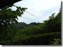 山頂駅からの舎心ヶ獄大師像
