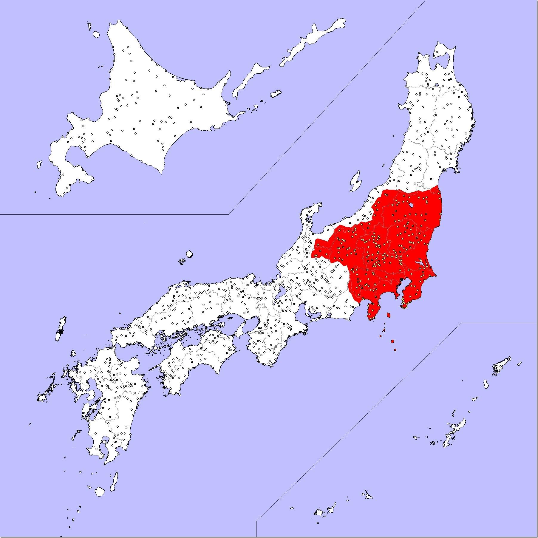 道の駅制覇マップ20161022