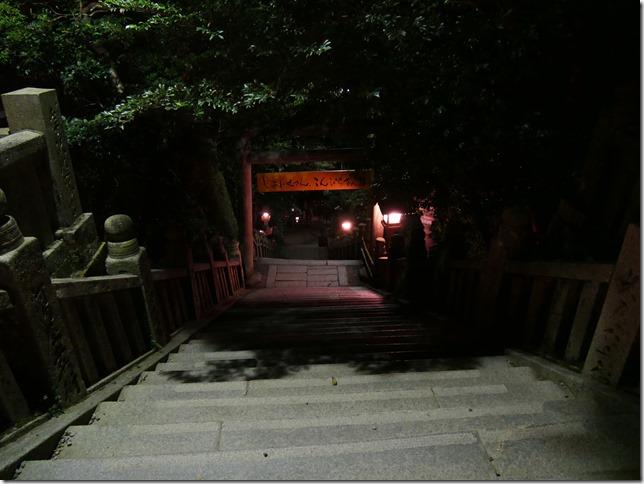 帰りの石段