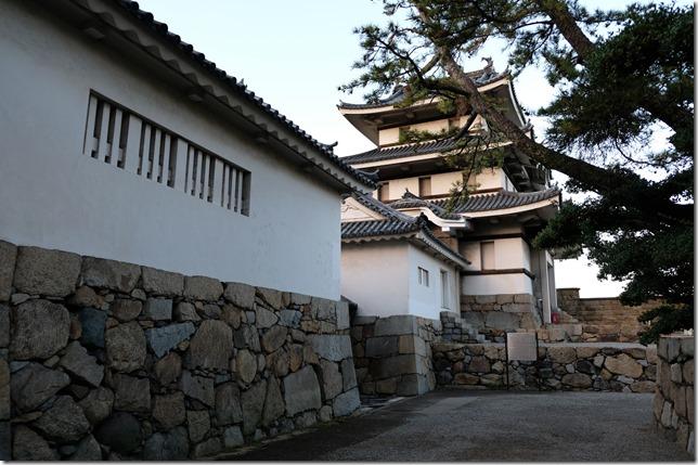 渡櫓と月見櫓