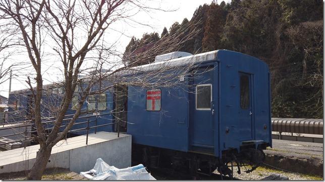 鉄道郵便車「オユ10」