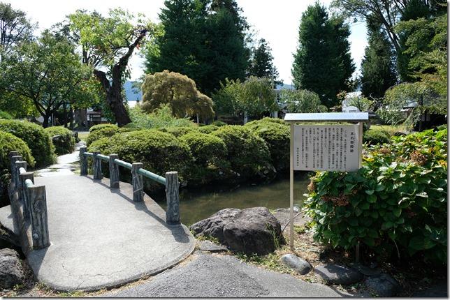 高島城本丸御殿跡