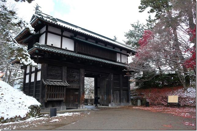 弘前城 南内門