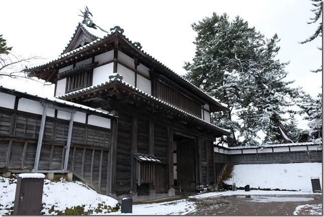 弘前城 亀甲門