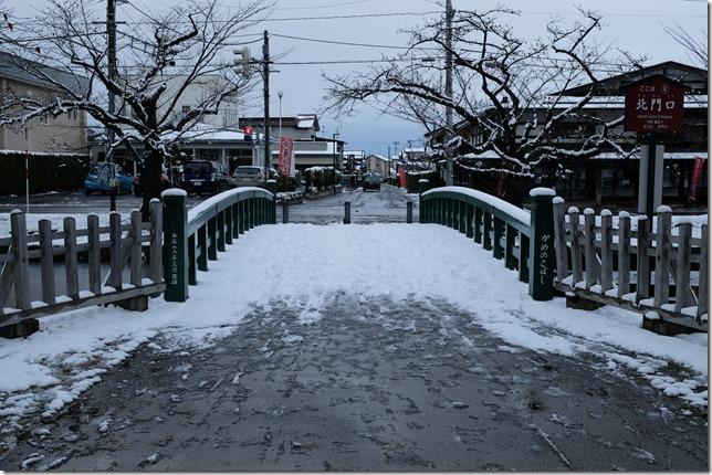 弘前城 亀甲橋