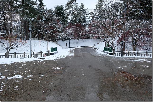 弘前城 賀田橋