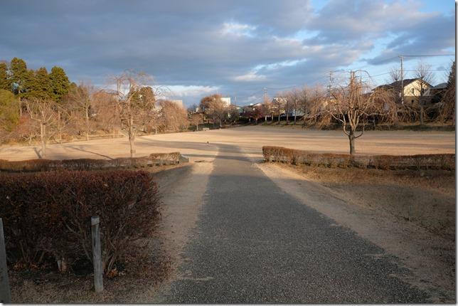 根城の広場