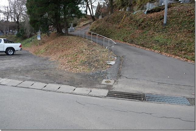 九戸城 松ノ丸入口