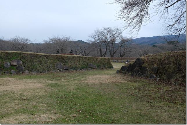 九戸城 本丸虎口跡