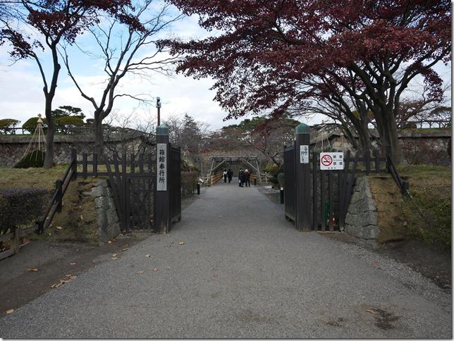 五稜郭 低塁と門