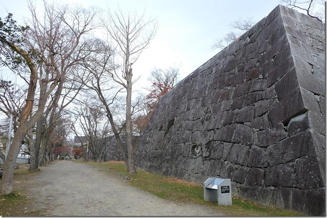 盛岡城 石垣
